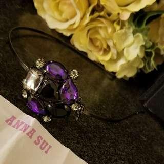 Anna Sui蝴蝶閃石頭箍