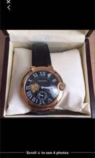 Jam tangan Cartier mirror , premium quality