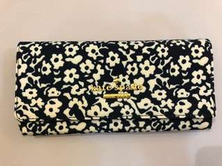 Kate Spade Wallet - Floral Black and White