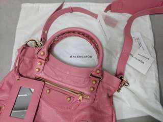 Balenciaga Giant Town in Rose Jaipur