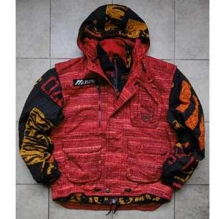 VINTAGE Jaket Gunung MIZUNO Ski Wear Insulated Sangat Hangat