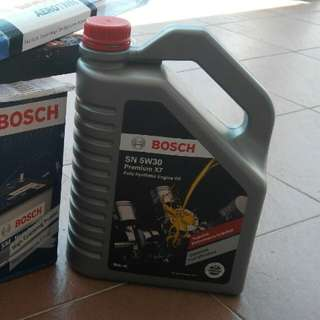 Bosch Premium X7 - Fully Synthetic Oil 5W30