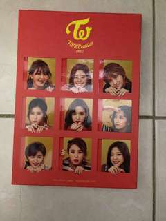 Twice Album free post cards