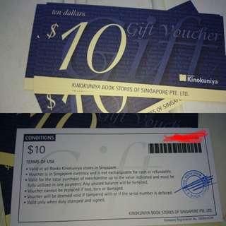 $80 cash Vouchers