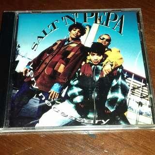 Salt N Pepa rare 1993 Very Necessary original USA pressing cd used Rap