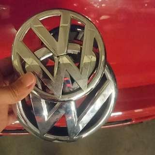 Original Volkswagen Emblem