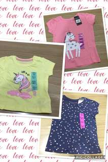 ✅In Stock From Europe - 🦄 Unicorn and love design T-Shirt