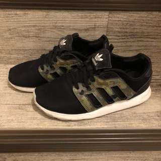 🚚 Adidas 黑 球鞋 慢跑鞋 迷彩