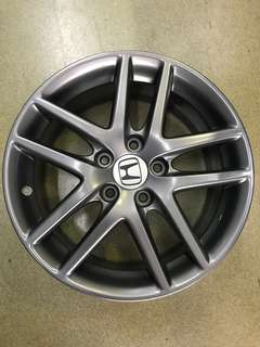 "17"" 5x114 honda accord euro r used rim 1 set $550"