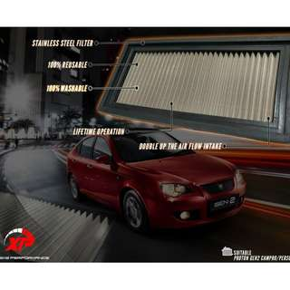 AIR FILTER DROP IN ALZA MYVI KANCIL GEN2 WIRA WAJA SAGA SATRIA