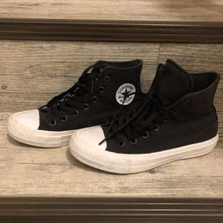 🚚 Converse chuck Taylor all star 高筒 黑 帆布鞋 科技鞋墊