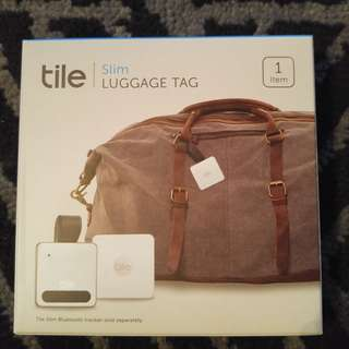 uggage tag for Tile Slim