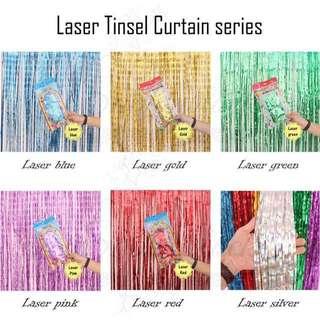 Tinsel curtain