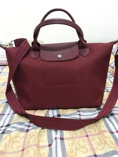 Authentic LongChamp Maroon (SMALL)