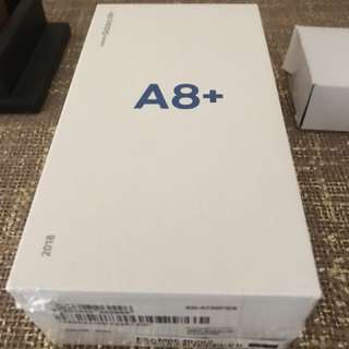 Samsung A8 plus- Gold-64gb- brand new