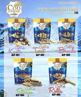 Alps natural fish cod treat