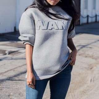 H&M x alexander wang sweatshirt