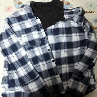 假兩件襯衫