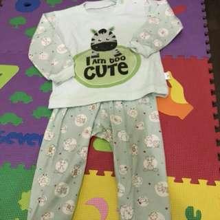 Piyama bayi/baju tidur