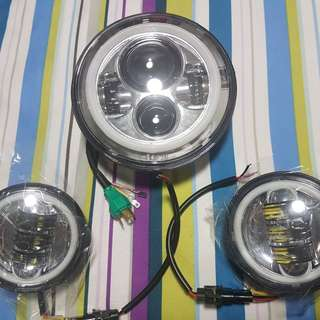 Headlight Harley Davidson
