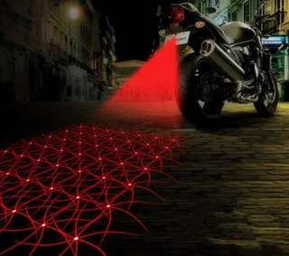 Car/bike laser fog lamp