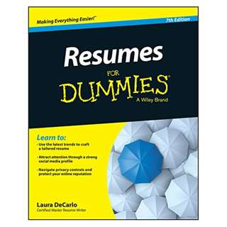 Resumes For Dummies Kindle Edition by Laura DeCarlo (Author)