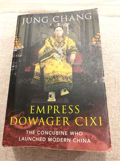 Empress Cixi book