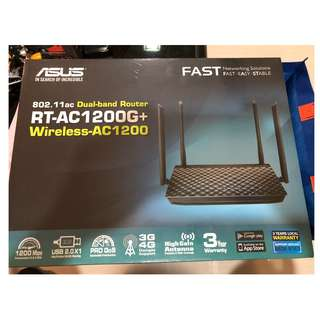 ASUS RT-AC1200G+ Dual Band WiFi Router (Brand New in Box)