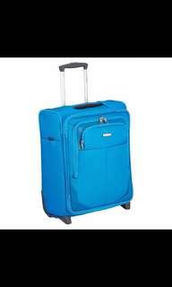 全新 藍色Samsonite 22吋 行李喼,手提行李箱 (TSA美國海關鎖)