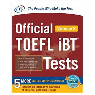 Official TOEFL iBT® Tests Volume 2 Kindle Edition by McGraw-Hill Education (Author)