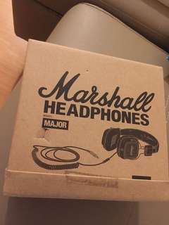 Marshall Major headphone