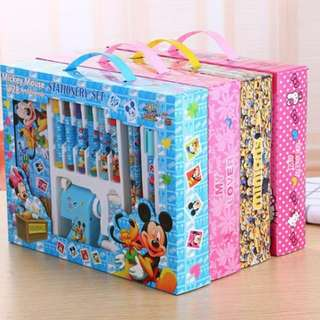 Creative children stationery gift set kindergarten students lovely high-grade gift stationery pencil sharpen