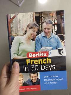 Learning french book