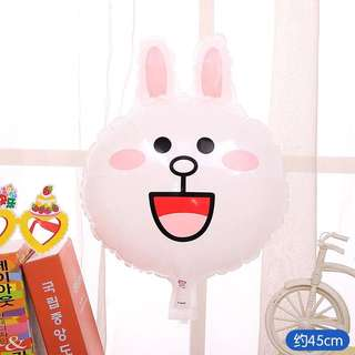 B69 Happy birthday balloon bunny cony line