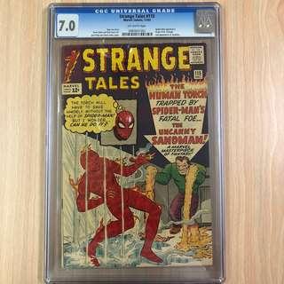 MARVEL COMICS Strange Tales #115-Spiderman Appearance|Dr. Strange Origin|2nd Appearance of Sandman (Serious Buyers Only)