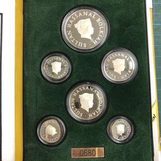 1989 Brunei Proof Set