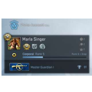 [MG1] PRIME CSGO Account