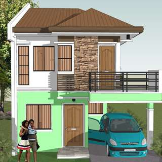 House an 100sq.m floor area House and Lot in batasan Hills Quezon City