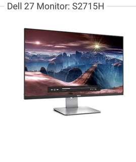 """Dell S2715HT Full HD 27"""" Monitor"""