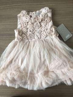 ORIGINAL Mamas & Papas Rose Mesh Dress