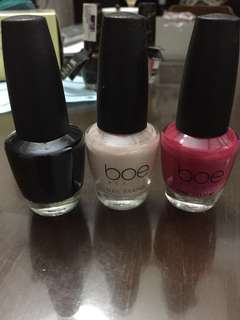 Boe nail polish bundle