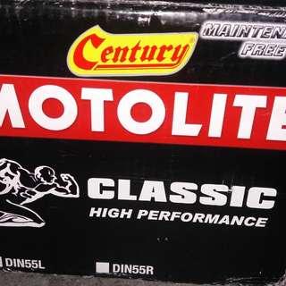 battery century motolite DIN55L