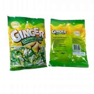 Permen Ginger Kelapa