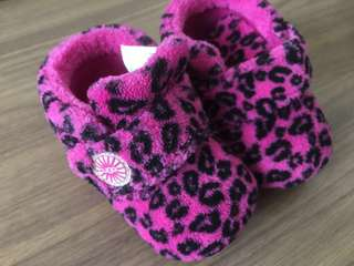 ORIGINAL UGG Bixbee Leopard Baby Shoes