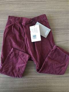 ORIGINAL Mamas & Papas Maroon Pants