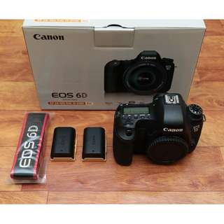 Canon 6D Fullbox Set