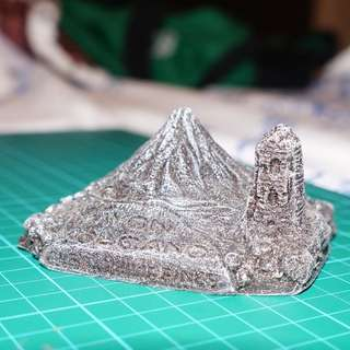 Miniature Mayon Volcano (Philippines)