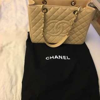 Chanel Large GST Beige