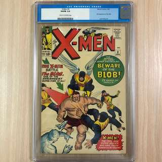 MARVEL COMICS X-Men #3-1st Appearance of the Blob (Serious Buyers Only)