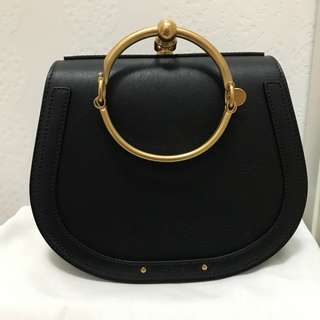 Nile Chloe black medium bag